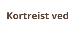 Kortreist ved logo