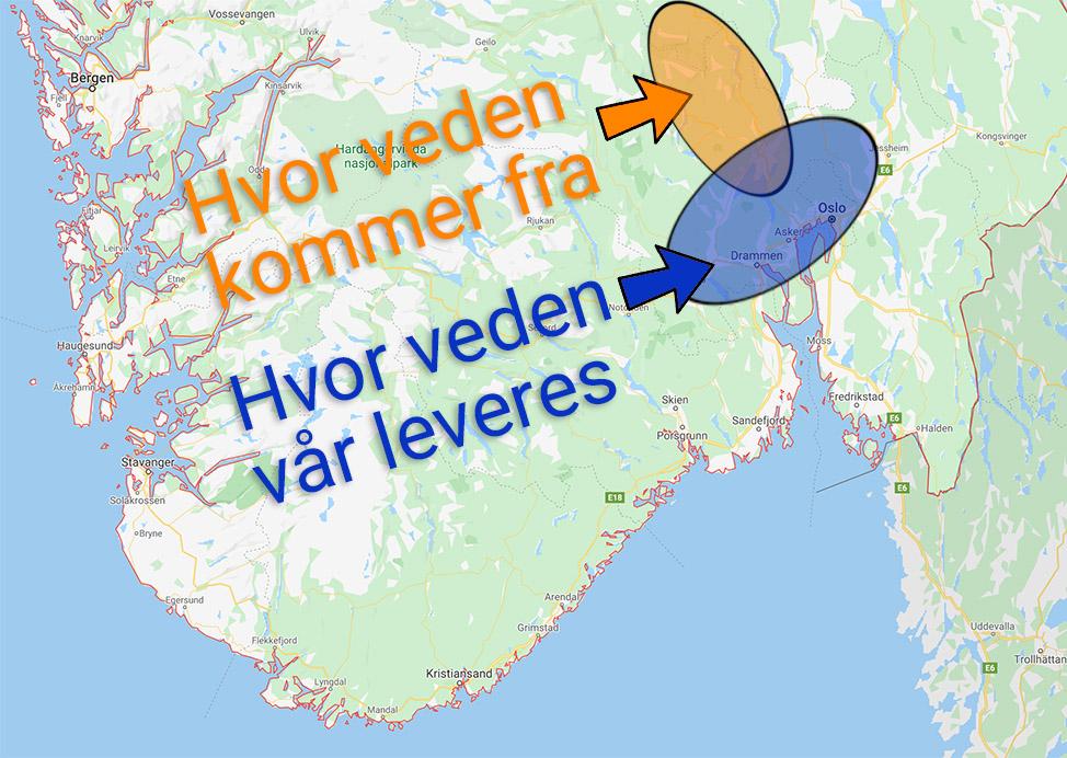 Kortreist norsk ved